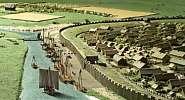 Vikingernes Aros set fra Søen