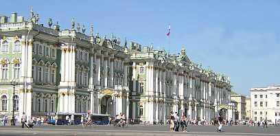Vinterpaladset Og Eremitagen Skt Petersborg